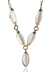 Necklace Imitation Opal Jewelry Wedding / Party / Daily / Casual Geometric Alloy Translucent 1pc Gift