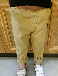 Boy's Casual/Daily Patchwork PantsCotton Spring / Fall Blue / Yellow