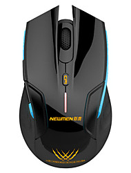 Newmen E500 Wireless Gaming Luminous Mouse Black