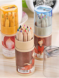 Cartoon Creative Planktonic Girl Painting Pen
