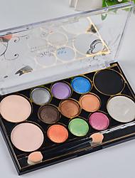 12 Eyeshadow Palette Matte Eyeshadow palette Powder Normal Daily Makeup