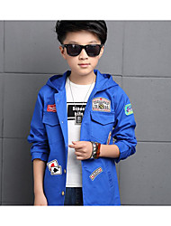 Boy's Casual/Daily Solid Suit & BlazerCotton Fall Multi-color