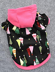 Dog Hoodie / Sweatshirt Multicolor Dog Clothes Winter / Spring/Fall Stars Cute / Fashion