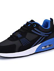 Femme-Extérieure / Décontracté / Sport-Bleu / Noir et rouge / Noir et blanc-Talon Plat-Baby-Chaussures d'Athlétisme-Polyuréthane