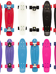 The new single skip PP plastic skateboard Small fish plate skateboard Children round the skateboard