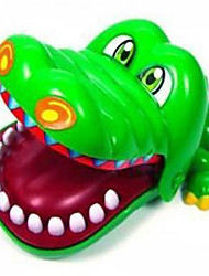 Crocodile Board Game Practical Joke Gadget Leisure Hobby Novelty ABS Green Boys / Girls
