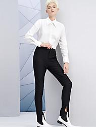 Pantaloni Da donna Skinny Semplice Rayon / Poliestere Media elasticità