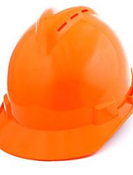 capacete de segurança abs (laranja)