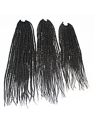 Senegal Twist  #2 Synthetic Hair Braids 18inch 20inch 22inch Kanekalon 81 Strands 200g  Multipal Pack for Full Heads