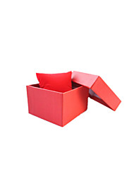 Note Five Packaged For Sale   Size 8.5*8*8.5cm Jewelry Box Gift Box  Red