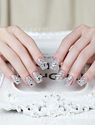 искусства ногтя продукты ложные патчи для ногтей на невесту ложных ногтей полоски жевательной резинки