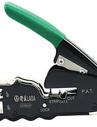 l'ancien un ordinateur de poche 8p / 6p double - objectif pince à dénuder réseau pinces