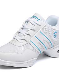 Women's Dance Shoes Fashion Dance Sneakers Shoes Chunky Heel Practice / Performance EU36-39