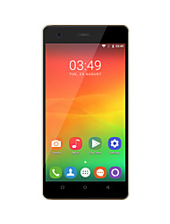 "OUKITEL C4 5.0 "" Android 6.0 Smartphone 4G (Chip Duplo Quad Core 8 MP 1GB + 8 GB Preto / Branco)"
