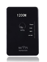 Wireless AP router 1200Mbps dual band WIFI Repeater Extender Booster Router Panel Walls Embedded