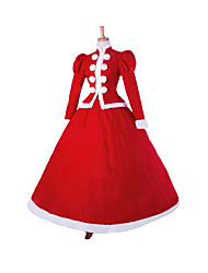 Steampunk@Top Sale Christmas Party Red Prom Dresses