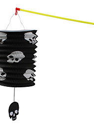 1PC Halloween Portable Lantern Folding Paper Lantern Portable Straight Lantern