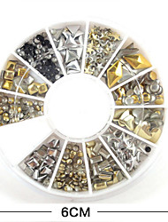 1Pcs  Nail Art Accessories Metal Rivets