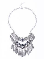 Europe And The United States To Restore Ancient Ways Jewelry Personality Multilayer Leaves Fringed With Diamond Necklace