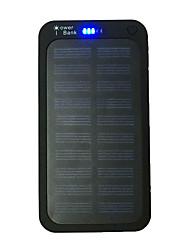 Ismartdigi PW12000 New Super Slim 1.1cm Solar 5000 5000mAh Power Bank with Solar Charging for Cell Phone