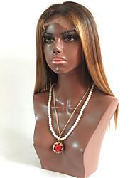 T1B / 4/30 en vrac sans colle vague dentelle avant perruques de cheveux humains avec des cheveux de bébé pour les femmes noires de chapeau