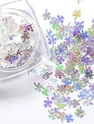 1pcs New Rhombus Paillette Glitter Nails 3d Slice Powder Set DIY Design Nail Art Sequins Decoration Fashion Accessories