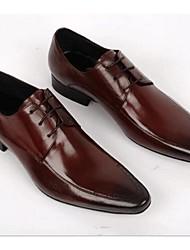 Men's Oxfords Comfort Formal Shoes Leather Wedding Office & Career Black Brown