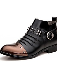 Men's Boots Spring / Fall / Winter Fashion Boots / Motorcycle Boots / Combat Boots Casual Low Heel Rivet