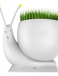 Long handsome Cabeada Others Charging usb snail lamp Branco / Verde