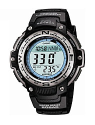 CASIO Outdoor Sports Multifunction Mountaineering Waterproof Electronic Men's Watch with BeltStudents Watch SGW-100-1V