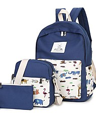 Women Canvas Sports / Outdoor Bag Sets Multi-color
