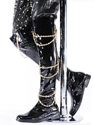 Sapatos de Dança(Preto) -Masculino-Não Personalizável-Botas de dança