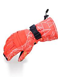 Ski Gloves Full-finger Gloves / Winter Gloves Women's / Men's Activity/ Sports Gloves Keep Warm / Waterproof / Fleece LiningSki &