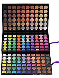 180 Paleta de Sombras de Ojos Mate / Brillo Paleta de sombra de ojos Crema Grande Maquillaje de Diario