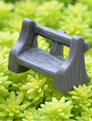 Moss Micro Landscape Ornaments Meaty Plant Furnishing Articles Dark Antique Bench Stool DIY Material