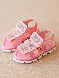 Girl's Sandals Others PU Casual Pink White Peach