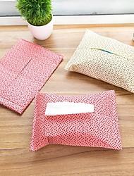 The Paper Box Set Cover Creative Tissue Boxes Textile Cotton (Random Colours)