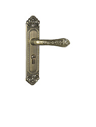 Hotel Ferrule Mechanical Door Lock Handle Room Door Lock