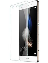película protectora de pantalla de cristal templado de alta calidad para Huawei p8 Lite