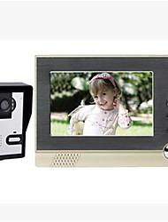 800*3(RGB)*480 120 CMOS Klingelanlage Kabellos Multifamily videotürklingel