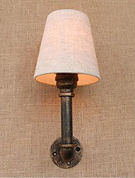 AC 220-240 3 E27 Rustic/Lodge Brass Feature for Bulb Included,Ambient Light Wall Sconces Wall Light