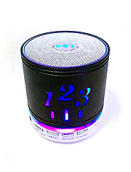 Digital Bluetooth Speaker Lamp Speaker Radio Player Gift