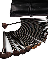 32pcs Blush Brush / Eyeshadow Brush / Brow Brush / Eyeliner Brush Others Professional / Travel / Full Coverage Wood Others