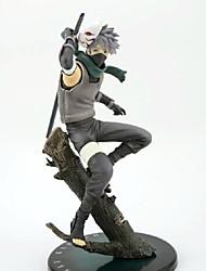 Naruto Hatake Kakashi PVC 24cm Las figuras de acción del anime Juegos de construcción muñeca de juguete