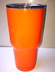 Rambler Tumbler 30oz Orange Powder Stainless Steel Cup Coated