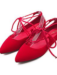 Feminino-Rasos-Bailarina-Rasteiro-Preto Azul Vermelho-Flanelado-Social Casual