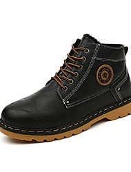 Men's Boots / Fashion Boots /New Arrival/Leather Outdoor / Casual Black / Brown Walking/Classic Style