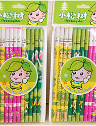 Only A Pack Of 12 Small Pine Hb Pencil(12PCS)