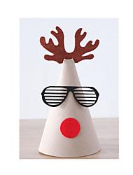 vestido do Natal chapéu criativo