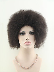 Virgin Brazilian Short Hair Afro Curly Machine Made Wigs For Black Women